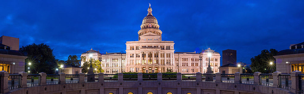 Texas State Capitol Building in Austin TX - Texas has new unclaimed property reporting procedures.