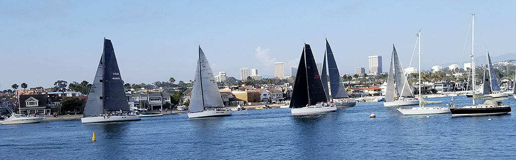 Sailboats in California